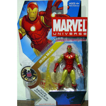 Iron Man - Marvel Universe - 3.75 Pulgadas - Fury Files