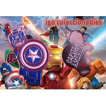 Dije Capitan America Lego The Avengers Marvel Envió Igo Cole