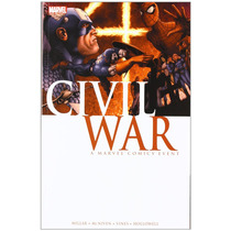 Libro Marvel Civil War - Spider-man, New Avengers, The X-men