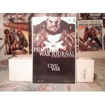 Civil War Punisher #1 Variante Wolverine Spider-man Hulk