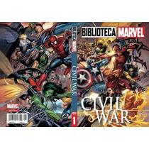 Civil War Biblioteca Marvel Mexico Español Nuevo