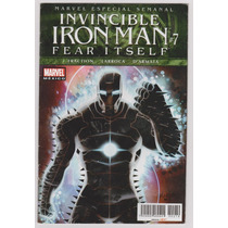 Invencible Iron Man # 7 Fear Itself - Editorial Televisa