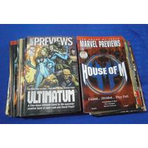 Marvel Preview (varios Titulos , Paquete De 3 Pzas)
