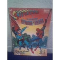 Dc Superman Spiderman Marvel Novaro 1981 1a. Edición Vintag