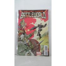 Battleworld #2 Variante Secret Wars Marvel México Televisa