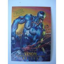 Tarjeta Spiderman La 7 De 9 Venom Edicion Limitada