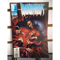 Inhumans 07 En Ingles Marvel Comics