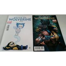 La Muerte De Wolverine Completa En Español!