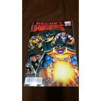 Secret Wars 4 Portada Variante Thanos En Español Marvel