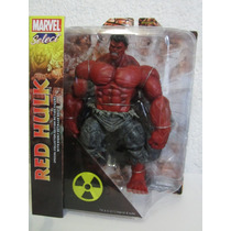 Hulk Rojo Red Marvel Select Avengers Universe 100% Nuevo