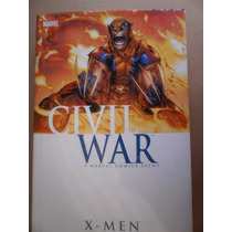 X-men Civil War Obra Completa En Ingles Un Volumen Marvel