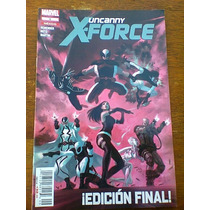 Uncanny X-force Edicion Final Comic Marvel Televisa
