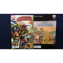 The New Avengers #1, All New All Diferent, Marvel Comics