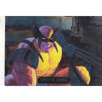 1994 Marvel Masterpieces Powerblast Foil Wolverine #9