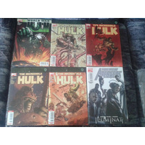Marvel Comic Televisa Planet Hulk World War Hulk Illuminati