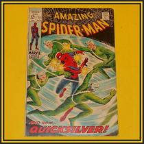 Marvel Comics The Amazing Spider-man Quicksilver Mercurio