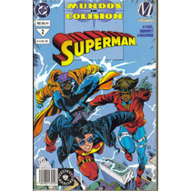Superman Mundos En Colision Tomos 1 Y 2 Dc.(año-1994)