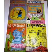 Los Supermachos, Lote De 6 Cómics De Los 70´s Y 80´s
