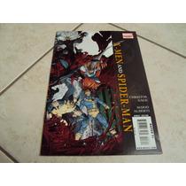 Comic Spiderman Y X-men Num 3 Con Error Marvel Wolverine