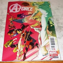 A-force #2 Secret Wars Portada Variante Marvel Mexico