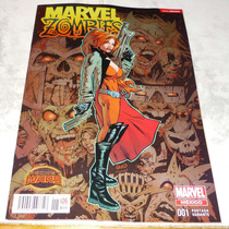 Marvel Zombies #1 Portada Variante Secret Wars Marvel Mexico