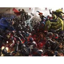 Era De Ultron 8 Portadas Variantes Avengers Ed. Televisa