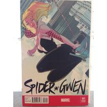 Spider Gwen # 1 En Ingles Portada Variante De Kris Anka