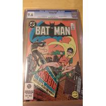 Dc Comics Cgc 9.6 Batman #368 02/84 2nd Robin Jason Todd