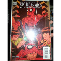 Comic Marvel Spiderman Stan Lee Firmado Certificado