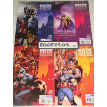 Avengers -siege- Completa 4 Tomos En Ingles