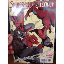 Spider Verse Team-up # 001 Portada Variante En Español .