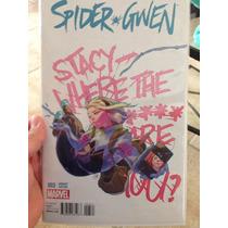 Spider Gwen # 3 En Ingles Portada Variante De Yasmine Putri