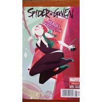 Spider Gwen 5 Portada Variante En Español Marvel Televisa