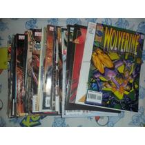 Marvel Comics Lote 35 Wolverine Americanos De Coleccion