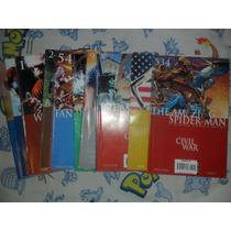 Marvel Comics Lote 12 Tie Ins De Civil War En Ingles
