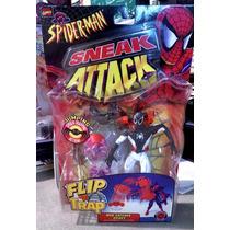 Marvel Spider-man Flip And Trap Zona Negativa Nuevo C10