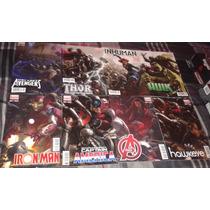 Revistas Marvel Avengers Age Of Ultron Edic. Variantes
