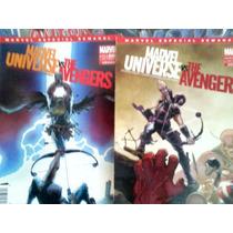 Marvel Universe Vs The Avengers Saga De 4 Tomos Compl. $160