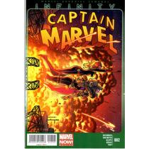 Marvel Infinity Captain Marvel #2 Marvel Mexico