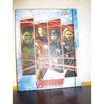 Carpeta Avengers Durabook 100% Coleccionable