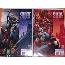 Avengers - Siege (1 Al 4) Completo