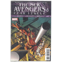 The New Avengers # 3 Fear Itself - Editorial Televisa