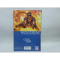Civil War Wolverine 24 Comic Editorial Televisa Nuevo D 2006