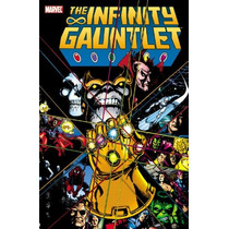 Libro Marvel: Infinity Gauntlet (guante Infinito) Pb Ingles!