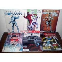 Superior Iron Man Saga Completa De 9 Numeros Ed. Televisa