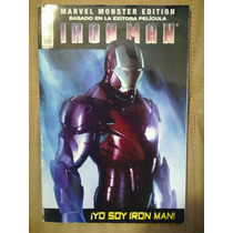 Iron Man Comic De La Pelicula Marvel Monster Edition Op4