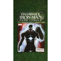 Invincible Iron Man #7, Fear Itsealf Editorial Televisa