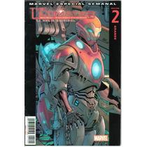 Lote Comic Ultimates Marvel Televisa Ironman Capitan America
