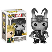 Loki Black And White Funko Pop