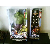 Hulk Y Thor 12 Pulgadas Avengers,batman,superman